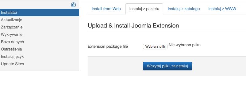 Joomla - krok 7