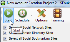 Account Creation (SenukeX) - krok 8