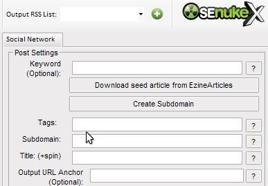 Social Network (SenukeX) - krok 5