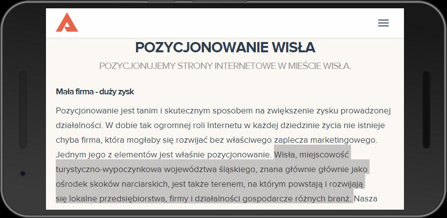 ageno.pl-pozycjonowanie-wisla-(Nexus 6P)